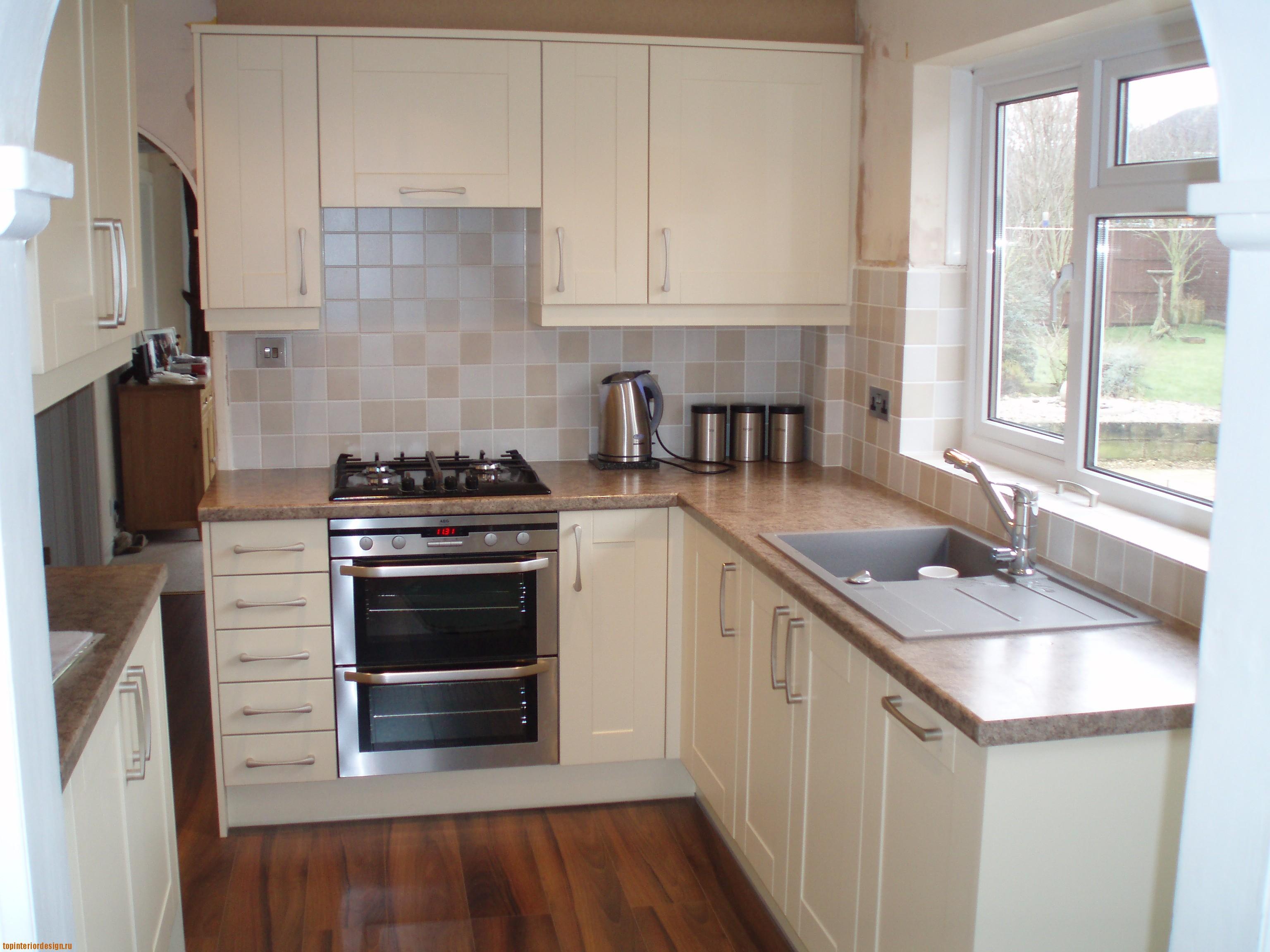 Маленькая кухня дизайн в квартире