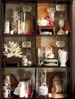 Декор из ракушек в современном интерьере - 47 фото примеров