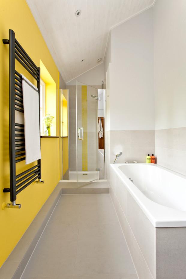 желтая ванная