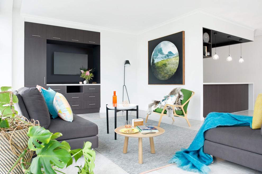 contemporary living room 7. Black Bedroom Furniture Sets. Home Design Ideas