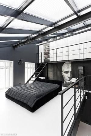 cool-modern-loft-mens-bedrooms - копия