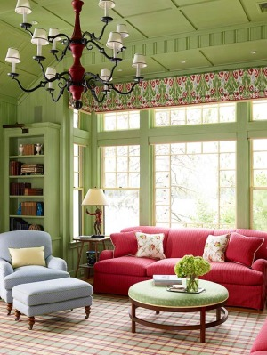 green-color-living-room1