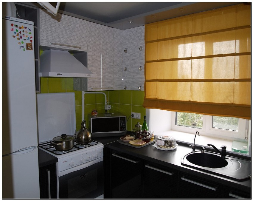 Фото кухня дизайн 5 кв