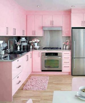 pink-kitchen-colors-modern-kitchens-9