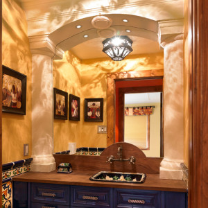 southwestern-powder-room