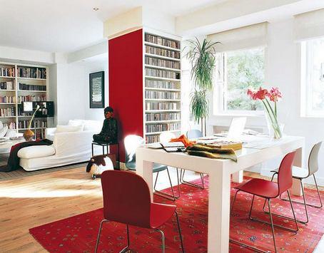 дизайн столовой гостиной