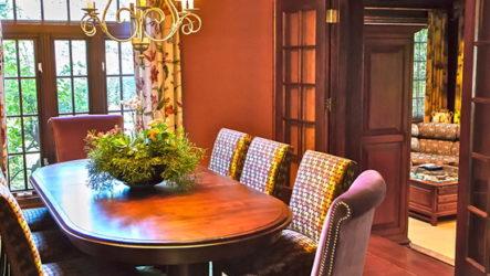 Терракотовый цвет в декоре интерьера