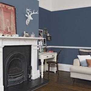 Blue-mid-century-living-room