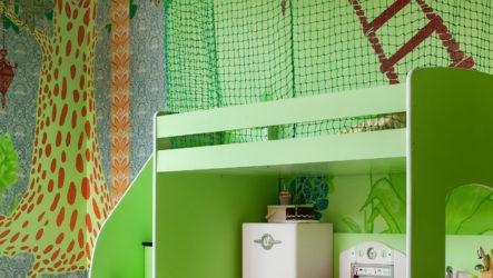 Зеленая детская – симулирующий покой