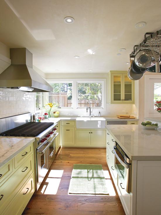 как сделать кухню светлее