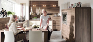 polished-wood-kitchen