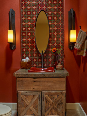 rustic-powder-room