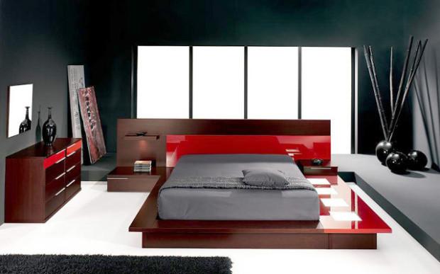 спальни в хай-тек стиле