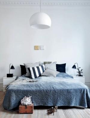 Blå Soveværelse