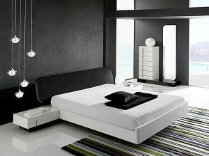 Dramatic-minimalist-bedroom-makes-a-bold-visual-statement