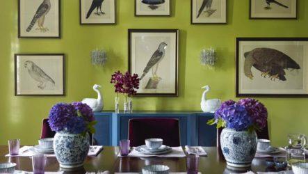 Салатовый интерьер в каждый дом