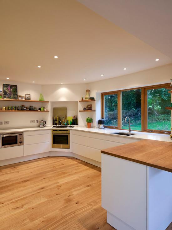 кухни в стиле минимализм