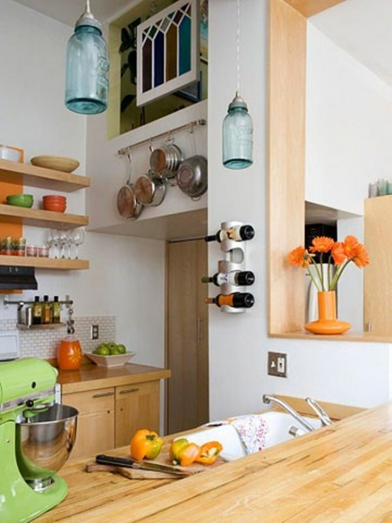 Украшаем кухню сами - 25 фото примеров