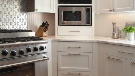 Тонкости дизайна угловой кухни