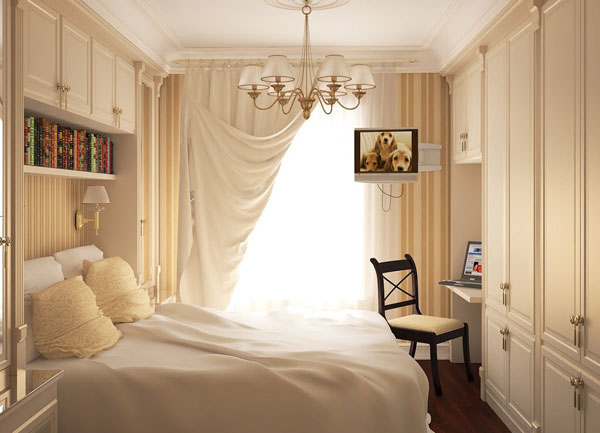 как расставить мебель в спальне