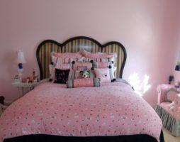 Розовая спальня – легкое и воздушное воплощение мечты!