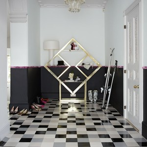 Black-and-White-Hallway-Livingetc-Housetohome
