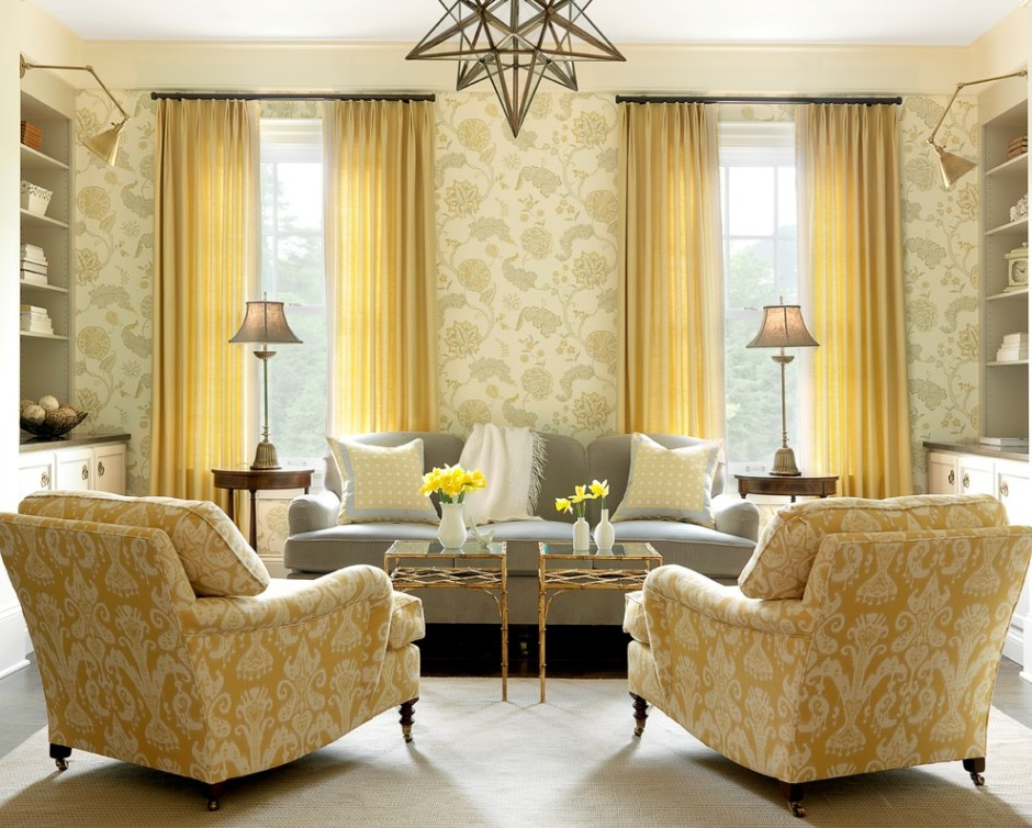 Charming Gray Living Room Decor And Brown Black Letter L