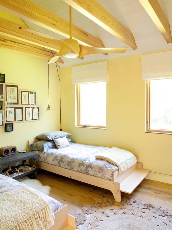 желтая спальня