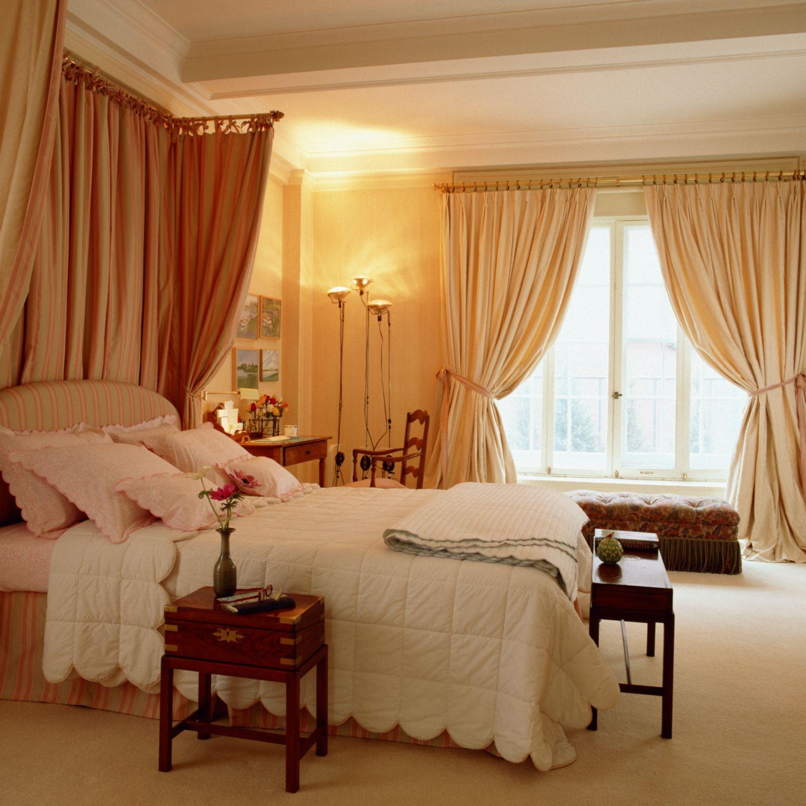Заказать шторы для спальни дизайн