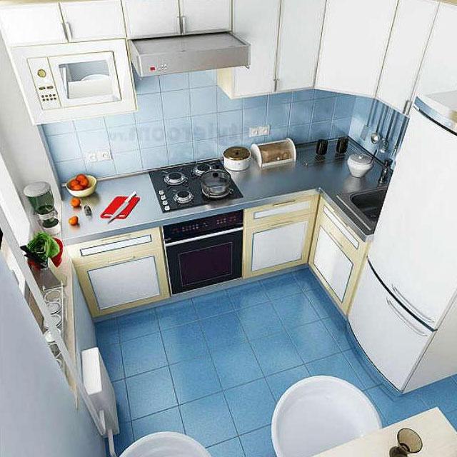 маленькие кухни 6 м кв дизайн фото
