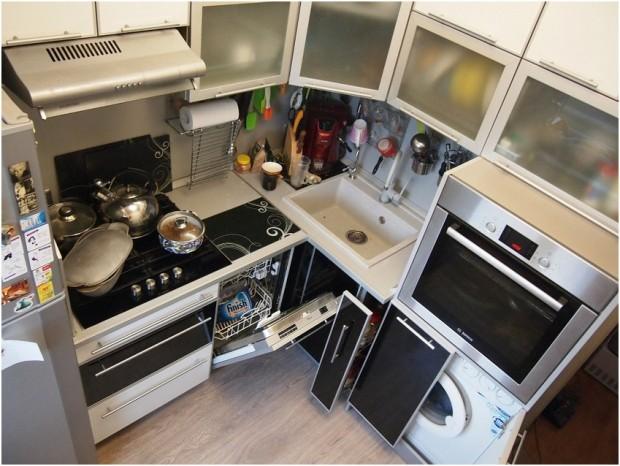 планировка кухни в хрущевке
