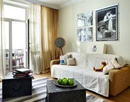 Дизайн комнаты с балконом: особые решения