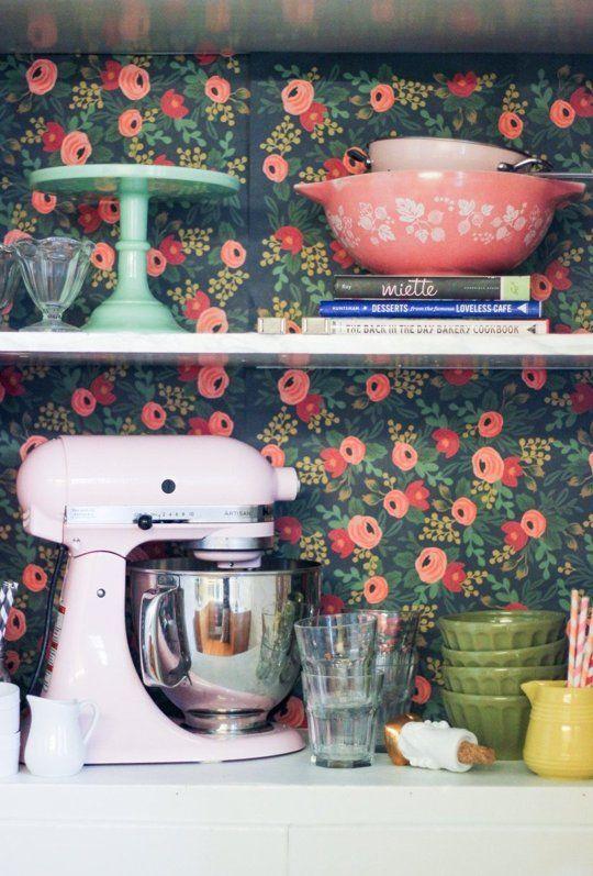 обои для стен в кухню