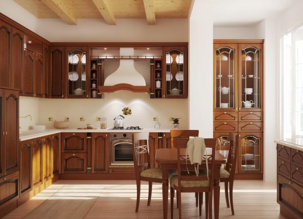 кухня в классическом стил