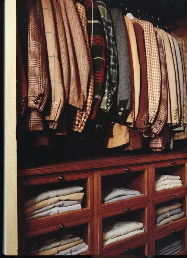 гардеробная из кладовки