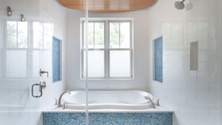 Плитка и способы её укладки в ванной