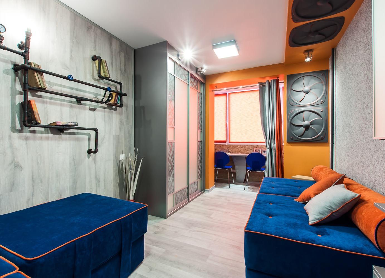 Ремонт детской комнаты с балконом ремонт крыш балконов пенза