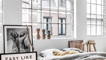 Арт-деко в современной спальне