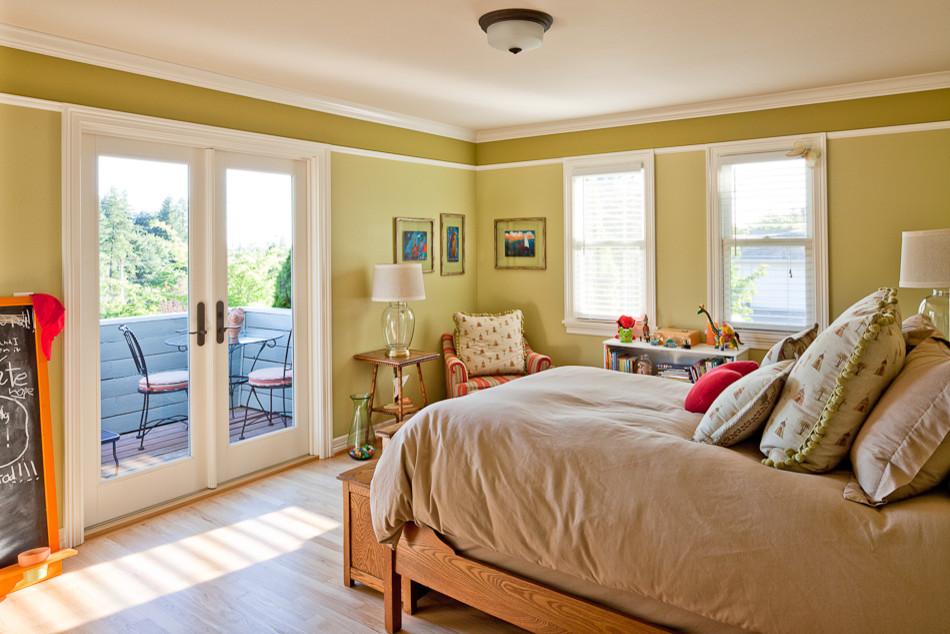Дизайн комнаты с балконом: особые решения - 18 фото примеров.