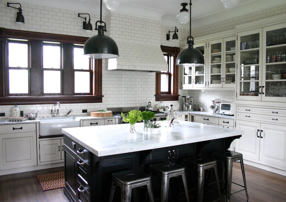 Кухня черно белая своими руками