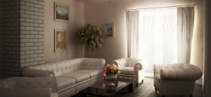 Classic-decor-all-white-room-seventies-style