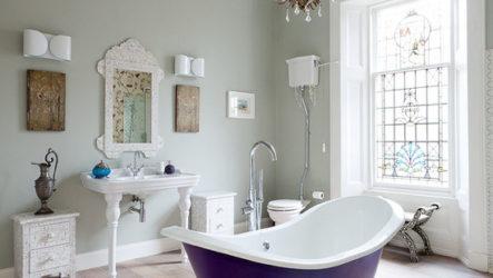 Великолепие классического стиля в ванной
