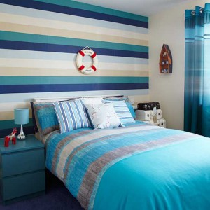 Nautical-stripes--bold-and-beautiful-bedroom--PHOTOGALLERY--Style-at-Home--Housetohome