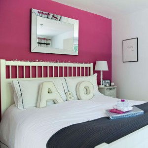 Paint-a-feature-wall--bold-and-beautiful-bedroom--PHOTOGALLERY--Style-at-Home--Housetohome