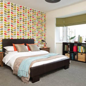 Retro-pattern--bold-and-beautiful-bedroom--PHOTOGALLERY--Style-at-Home--Housetohome