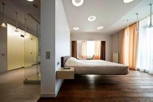 high-tech bedroom