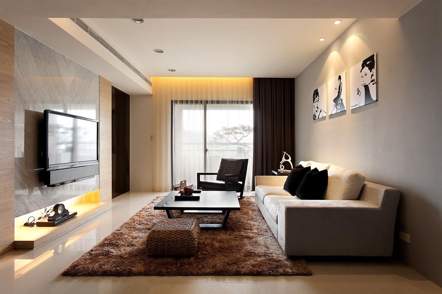 Минимализм в квартире фото