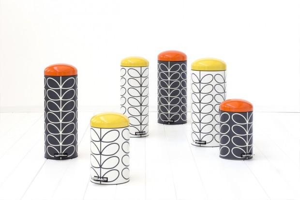 Капсульная коллекция ретро баков Brabantia в сотрудничестве с Орлой Кили, 12, 20 и 30 литров
