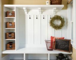 Организация пространства прихожей – хранение вещей и обуви