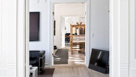 Декор дверного проема в домашнем интерьере